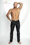 Pantalon Moulant en Wetlook Noir Handmade Stronger Clipped