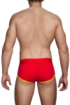 Slip Shorty Rouge et Jaune Macho MS089