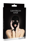 Cagoule Spandex 3 Orifices Ouch Subversion Mask