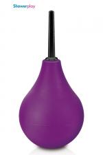 Poire à lavement Showerplay P3 - violet - Poire à lavement classique, coloris violet, contenance de 224 ml, pour votre hygiène intime.