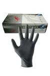 Gants latex chirurgicaux (x100) - 100 paires de gants en latex chirurgicaux noir pour pratiquer le fist ou jouer au docteur. Ces gants en latex naturel de qualité chirurgical sont utilisés par les professionnels. Ils sont résistants et leur fabrication répond à la norme ISO 9001.