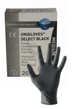 10 Paires de Gants en Latex Mister B : Une boite de 10 paires de gants chirurgicaux en latex noir Mister B en taille M pour vos fists et vos séances médicales dans le donjon. Changez de gants à chaque fois. Permettent une bonne dextérité et un bon toucher.