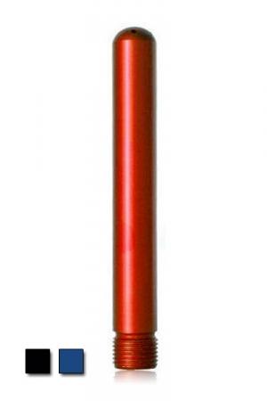 Canule de douche  colorée - Aluminum - Canule de douche en aluminium disponible en rouge, noir ou bleu ! L'aluminium vous garantit une douchette légère mais résistante. Le pas de vis standard permet un montage facile et les trous un lavement efficace.
