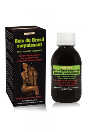 Bois du Brésil Surpuissant - Bois du brésil à base de Muira-Puama et d'Açaï qui stimule la libido et les performances sexuelles de celui qui le boit.