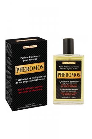 Parfum Aphrodisiaque Homme Pheromos - Un parfum pour démultiplier les phéromones masculines et accroître votre attirance et votre potentiel séduction