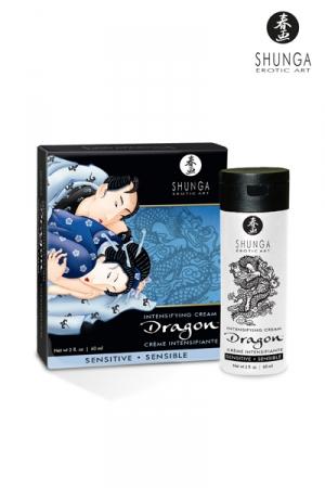 Crème Gay Retardante Shunga - Crème gay retardante Dragon par Shunga : retarde votre éjaculation de 30 à 45 minutes. Formulée à base d'extraits naturels et de plantes, elle lubrifie et hydrate votre sexe. Cette crème rafraichissante est compatible avec le latex.