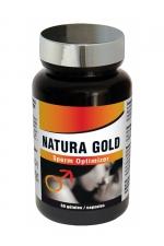 Natura Gold (60 gélules) -  Sperm optimizer , booste la fertilité, améliore les capacités érectiles, stimule la libido et l'énergie sexuelle.