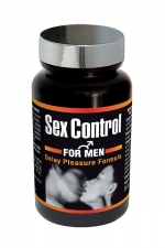 Complément Aphrodisiaque Naturel Sex Control - Les laboratoires Nutri Expert présentent Sex Control, un complément aphrodisiaque naturel ultra concentré et puissant, 60 gélules pour prolonger l'érection et l'endurance sexuelle. Lutter contre l'éjaculation précoce.