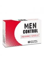Nutri Expert Men Control : Men Control pour l'endurance sexuelle, complément alimentaire fabriqué en France par Nutri Expert. A base de minéraux, de vitamines et de plantes pour vous transformer en étalon qui bande plus dur et plus longtemps.