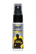 Spray Retardant Pjur Superhero Strong Performance Spray 20 ml : Le Pjur Superhero Strong Performance Spray 20 ml est un spray retardant à base de produits naturels fabriqué en Allemagne. Facile à utiliser, rapide et efficace, il prolonge votre érection et vous transforme en super baiseur.