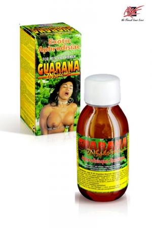 Guarana zn spécial (100 ml) - Un stimulant sexuel à base de Guarana, prendre une cuillère à café trois fois par jour pour un effet tonifiant rapide et efficace de votre sexe & de votre organisme.