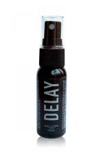 Spray Retardant Mister B Delay 30 ml : Retardant sexuel, effet rafraichissant et apaisant pour prolonger le plaisir et différer l'éjaculation. Parfait pour les hommes éjaculateurs précoces ou pour ceux qui veulent prolonger le plaisir !