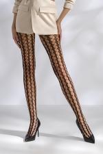 Collant Résille Noir Style 70's pour Sissy Passion TI048 : Collant résille noir style 70's pour sissy Passion TI048 : superbe motif à trous ouverts sur vos jambes pour mettre votre peau en valeur. Fabriqué en Europe par Passion.