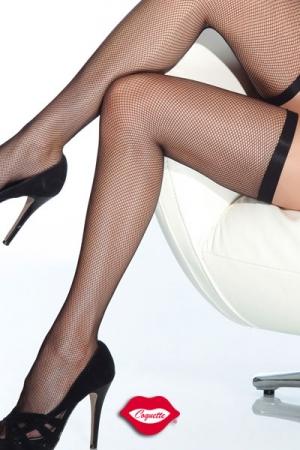 Bas Résilles Coquette - Bas résilles pour travesti élégant. Ils allongent vos jambes et vous procurent une silhouette distinguée mais sexy. Ces bas se marient heureusement avec toutes vos tenues, classiques ou sexy.
