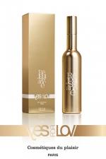 Parfum Réjouissance Yes For Lov 100ml - Un parfum féminin érotique nommée Réjouissance, qui excite les hommes, féminise la sissy et leur donne envie de vous faire l'amour. Flacon de 100 ml fabriqué par YesForLov en France.