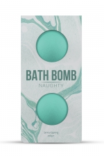 2 Bombes de Bain pour Sissy Dona Naughty : Bombes de bain parfumées aux odeurs printanières pour une sissy délicate et féminine. Violette et pivoine se mélangent aux amandes et à la verveine pour un bain coquin et relaxant. Fabriqué par Dona by Jo.
