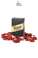 Pétales de Rose Parfumées Rose Petal Explosion - Pour une note romantique, sissy et très féminine, voici des pétales de roses artificielles parfumées. Disposez ou et comme bon vous semble sur votre lit aux draps roses en satin.
