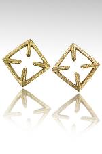 Pinces de seins CrossNip : Un superbe duo de pinces de seins, de vrais bijoux en bronze qui font bander !