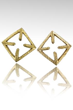 Pinces de seins CrossNip - Un superbe duo de pinces de seins, de vrais bijoux en bronze qui font bander !