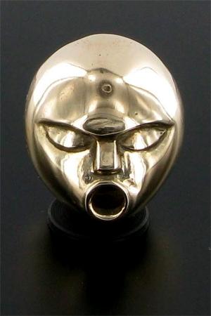 Cache sexe Thimble - Ornement de sexe ou objet d'art? Un bel objet en  bronze qui entretient les fantasmes.