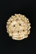 Cache gland Sprinkler : Effet de surprise garanti avec ce masque en bronze dédié à votre gland.