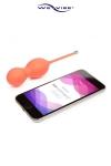 Boules de Geisha Vibrantes Connectées We-Vibe Bloom - Boules de Geisha vibrantes et connectées en bluetooth à votre smartphone ! Poids évolutif. Pour faire éjaculer de plaisir à distance le passif. Fabriquées par We Vibe !