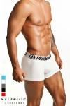 Boxer pour Homme MaleBasics - Boxer en coton pour homme par MaleBasics, une lingerie sexy et confortable avec une large ceinture qui moule et soutient parfaitement votre sexe et vos fesses. Soyez séduisant et nature.