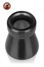 Cone of Shame Chastity Device Oxballs - Cone of Shame Chastity Device Oxballs est une cage de chasteté et un cockring fabriqué dans un silicone sans phtalate haut de gamme. Il empêche toute pénétration totale, est doux et flexible et n'irrite pas la peau.