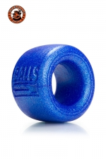 Ballstretcher Balls T Bleu Oxballs : Ballstretcher Balls T bleu Oxballs pour homme débutant qui souhaite étirer ses testicules ou avoir une érection plus longue et puissante. Usiné en silicone confortable, qui tient sans trop coller, le must des ball stretchers, ultra efficace.