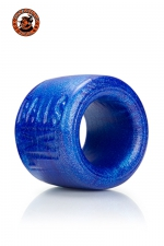 Ballstretcher Balls XL Bleu Oxballs : Ballstretcher Balls XL bleu Oxballs destiné aux hommes avec de grosses bourses. Il étire leur testicules au maximum ou procure une érection dure et interminable. Fabriqué en silicone bleu ultra confortable, c'est une référence.