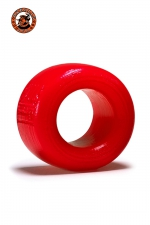 Ballstretcher Balls T Rouge Oxballs : Ballstretcher Balls T pour homme débutant qui souhaite étirer ses testicules ou avoir une érection plus longue et plus puissante. Fabriqué dans un silicone rouge confortable, qui tient sans trop coller, le must des ball stretchers, ultra efficace.