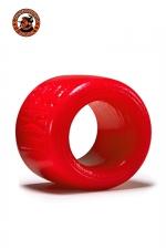 Ballstretcher Balls XL Rouge Oxballs - Ballstretcher Balls XL est destiné aux hommes avec de grosses bourses qui souhaite étirer leur testicules ou avoir une érection plus longue et plus puissante. Fabriqué dans un silicone rouge premium ultra confortable, c'est une référence.
