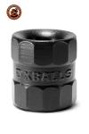 Ballstretcher BullBalls 1 Noir Oxballs  - Version modernisé et amélioré du Bullballs 1 original : le Bullring est un ballstretcher et un cockring en silicone haut de gamme extensible et très résistant. Il étire efficacement vos bourses ou prolonge confortablement votre érection.