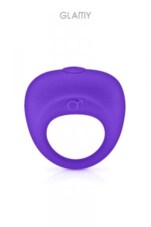 Anneau de pénis vibrant - Glamy - Un anneau pénien pour renforcer et maintenir l'érection tout en stimulant le clitoris.