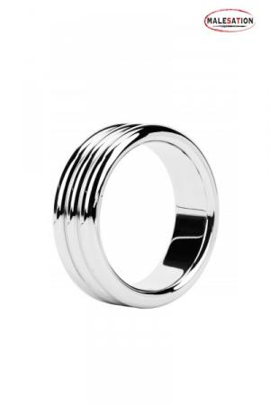 Metal ring Triple steel - Malesation - Cockring haute qualité composé de trois anneaux en acier inoxydable.