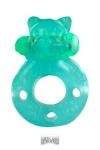 Cockring Vibrant Fluo Flash Teddy - Puissant cockring vibrant fluo que vous verrez même dans le noir ! Ses vibrations stimulent le sexe de l'actif et l'anus du passif. Fabriqué en TPE extensible, il est efficace et confortable pour renforcer et prolonger l'érection.