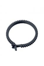 Cockring Ajustable en Silicone Dorcel Adjust Ring : Anneau de pénis réglable fabriqué en silicone extensible Dorcel Adjust Ring. Confortable il permet un contrôle fin de votre érection pour bander plus dur que d'habitude et retarder votre éjaculation. Devenez un étalon endurant !