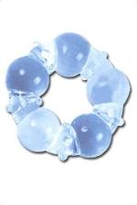 Anneau de penis silicone - Cockring en silicone réalisé dans un silicone spécial, très extensible qui s'adapte à toutes les verges. Parsemé de picots & de billes, ils stimulent les 2 partenaires pendant la pénétration.