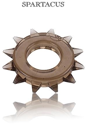 Cock Ring Stud Elastomer - Un anneau large, bord� de pics pour une esth�tique virile et une efficacit� maximum.