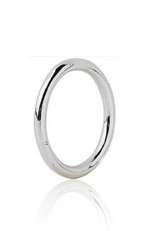 Classic CockRing acier - Avec son anneau tout en rondeur de 5 mm d'�paisseur, c 'est le mod�le classique des cockrings en m�tal.