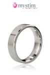 Cockring The Duke (poli) Mystim - Luxueux anneau de sexe en acier poli disponible en 48, 51 et 55 mm de diamètre. Sa surface est plate et ses bords droits. Il retient l'afflux sanguin dans votre sexe et renforce votre érection.