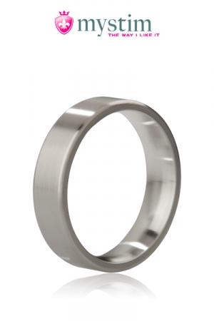 Cockring The Duke (bross�) - Mystim - The Duke, un anneau de p�nis de luxe (en version acier bross�) pour le plaisir des yeux et des sens.
