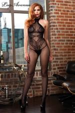 Combinaison Fendue sans Coutures pour Travesti - Une combinaison sexy fendue et sans couture qui dessine un body string sur votre corps. Fabriquée dans un tissu extensible