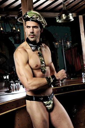 Déguisement sexy militaire 5 pièces - Tout le nécessaire pour vous déguiser en militaire ultra sexy!