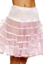 Jupon Long Gonflant pour Travesti - La superposition de volants permet à ce jupon long gonflant pour travesti de donner du volume à toutes vos robes. Fabriqué par Leg Avenue.