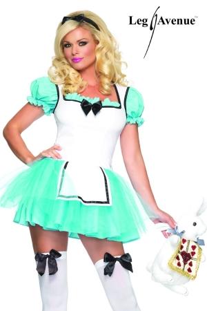 Costume Travesti Sexy Alice - Costume de travesti sexy d'Alice au Pays des Merveilles.