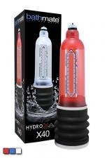 Développeur de Sexe Bathmate X40 - La pompe à sexe ultime, c'est la Bathmate X40 qui développe définitivement votre sexe grâce à la puissance de l'eau.