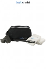 Kit de Nettoyage Bathmate - Accessoires de nettoyage indispensable pour votre pompe Bathmate : brosses, serviettes, boite de rangement étanche.