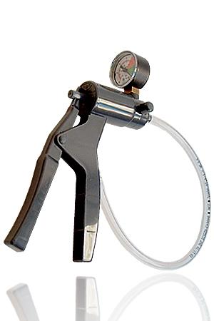 Pompe à Controle de Pression Mister B - Pompe à contrôle de pression, elle s'utilise sur les cylindres à valve LAPD et Mister B. Ce matériel haute qualité vous permet de régler l'intensité de la pression dans le cylindre.