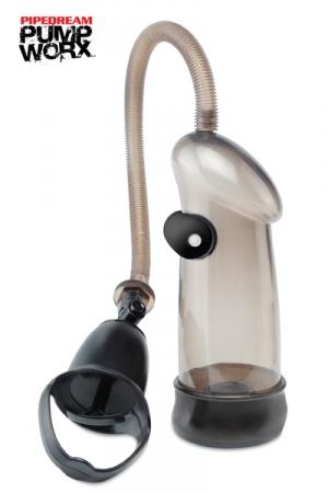 Pompe Vibrating Sure Grip - Pipedream - Une pompe à pénis vibrante : ce superbe développeur de bite contient une balle vibrante pour vous faire jouir plus fort ! Prenez confiance en vous & démultipliez vos performances sexuelles !